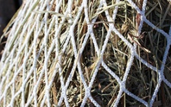 Hay nets that are dye-free